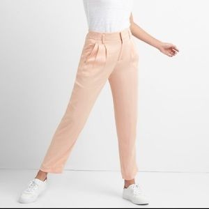 NEW GAP Pleated Pink Drapey Trouser sz4